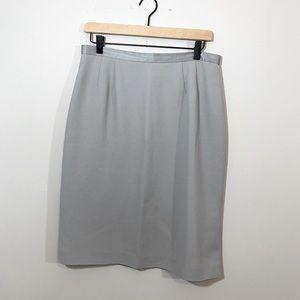 🔴 5 for $25 KASPER Grey Pencil Skirt